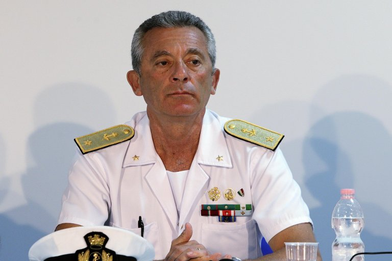 Admiral Giovanni Pettorino |PHOTO: ANSA/Riccardo Antimiani