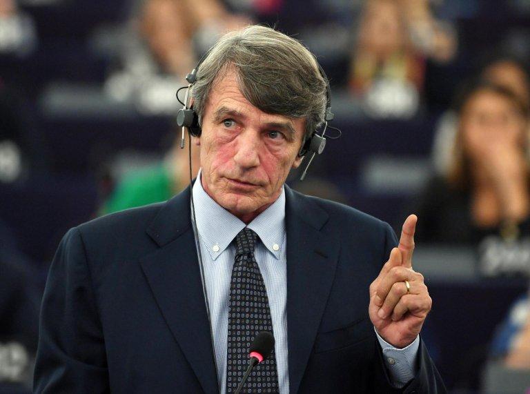 European Parliament president David Sassoli | Photo: ARCHIVE/EPA/PATRICK SEEGER