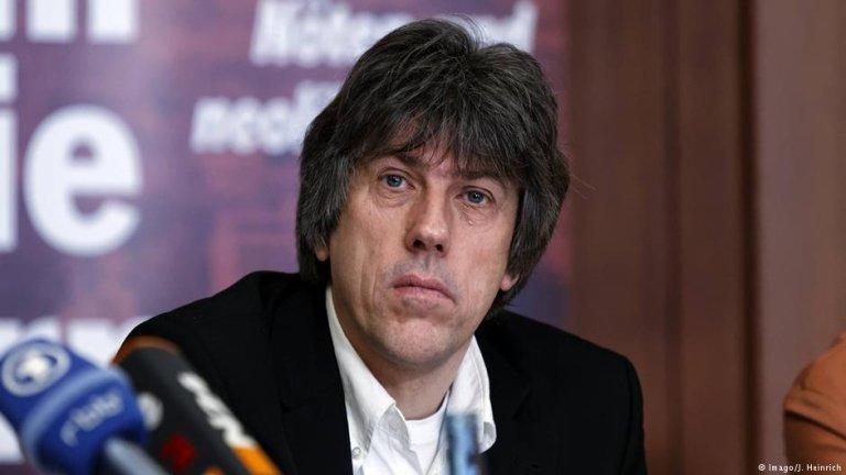 گونتر بورکهاردت، رئیس سازمان حقوق بشری پرو ازول در آلمان.