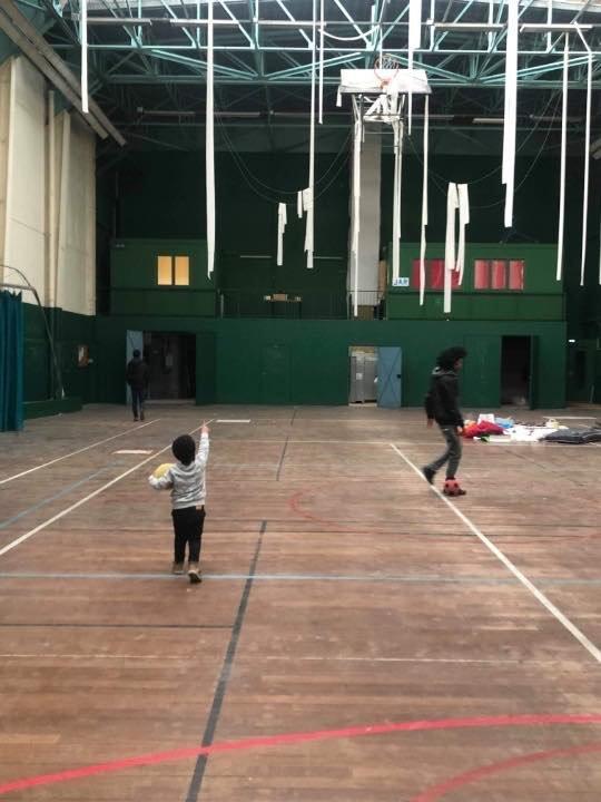 صالة تالينساك للألعاب الرياضية في نانت. المصدر:جمعية  لوتر كانتين