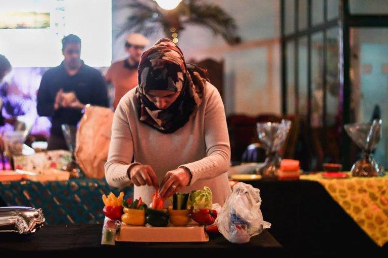 La start up Meet My Mama valorise le talent culinaire d'immigrées ou réfugiées en France. Crédits : Meet my Mama