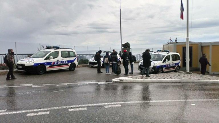 الحدود الفرنسية الإيطالية/أرشيف