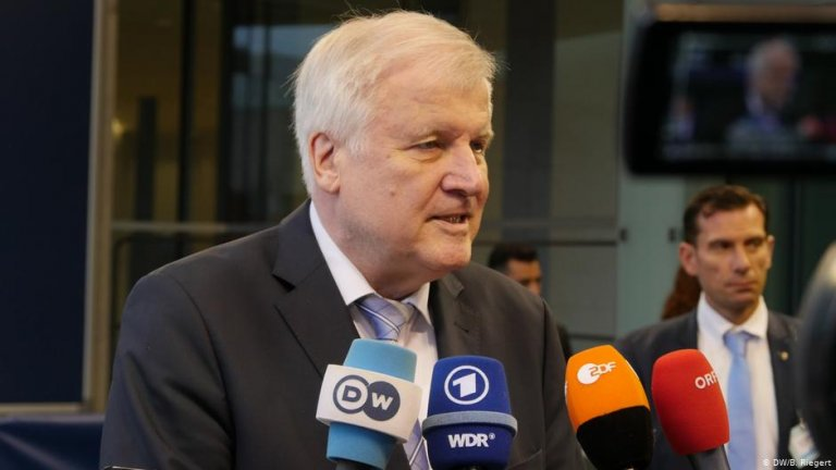 Germany's Interior Minister Horst Seehofer | Photo: DW/B.Riegert