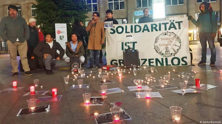 گردهمایی اعتراضی در شهر کلن آلمان