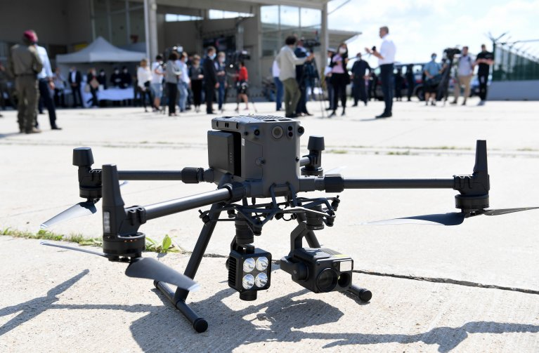The drones are aimed at detecting irregular border crossings | Photo: picture alliance