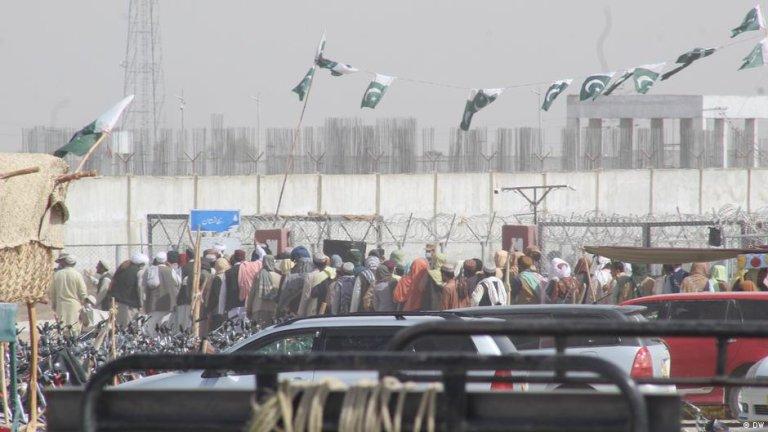 چمن، مرز بین افغانستان و پاکستان (عکس آرشیف)