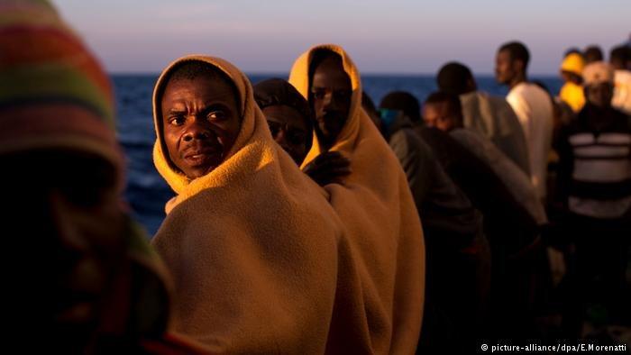 african migrants Libya