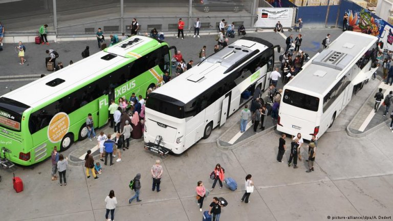 Buses in Germany | Photo: Picture-alliance/dpa/A.Dedert
