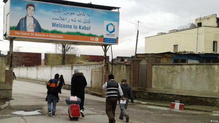 پناهجویان اخراج شده افغان در کابل/ عکس از آرشیف