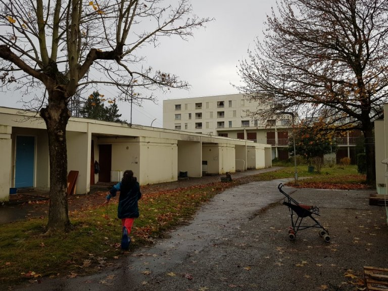 The Zone Libre  squat, located on the ourskirts of Bordeaux. It has 81 accommodation places which are occupied by migrants | Photo: Anne-Diandra Louarn / InfoMigrants