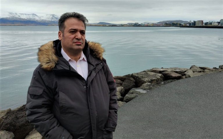 Hiwa Kolichi flew to Iceland from Hungary hoping to get better treatment as a refugee | Photo: Private