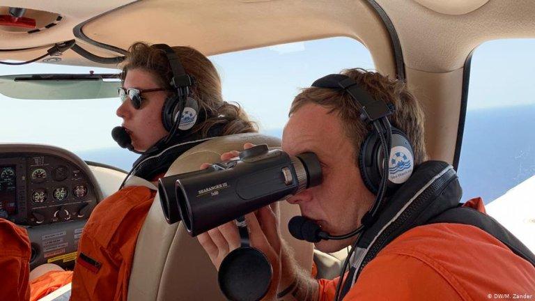مون برد پرواز های خود را بر فراز آب های مدیترانه آغاز کرد. عکس: دویچویله/ ام زاندر