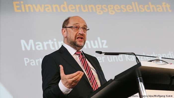 SPD Chairman Martin Schulz