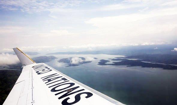 Photo MONUSCO/Abel Kavanagh |Une vue du majestueux lac Kivu situé à la frontière entre la RDC et le Rwanda (photo d'illustration).