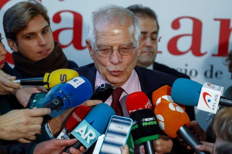 Spanish Foreign Minister Josep Borrell (Photo: EPA/Emilio Naranjo)