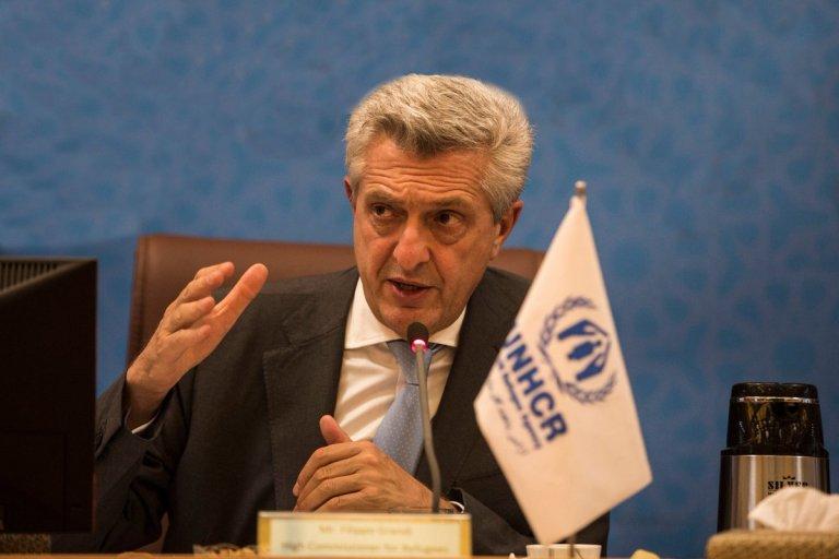 د کډوالو په چارو کې د ملګرو ملتونو عالي کمیشنر فیلیپو ګراندي، UNHCR