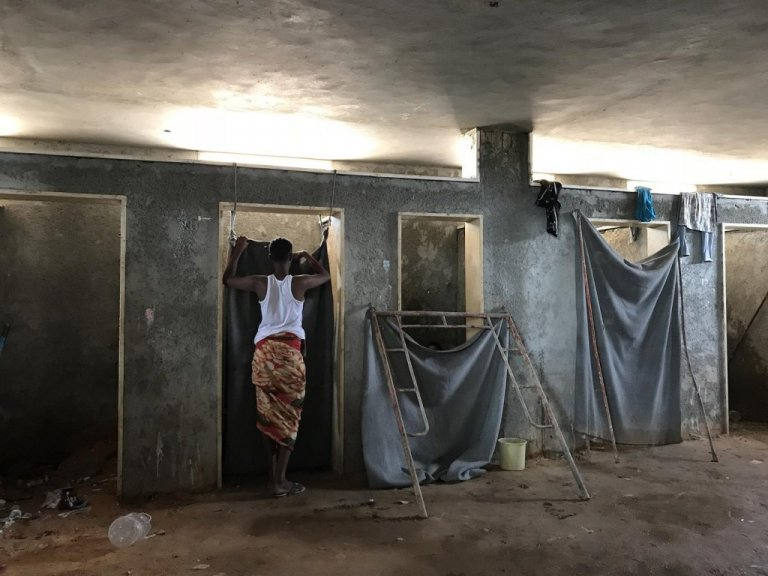 """Libyan detention centers, where around 6,000 migrants are said to be held, have been described as a """"hell on earth"""" 