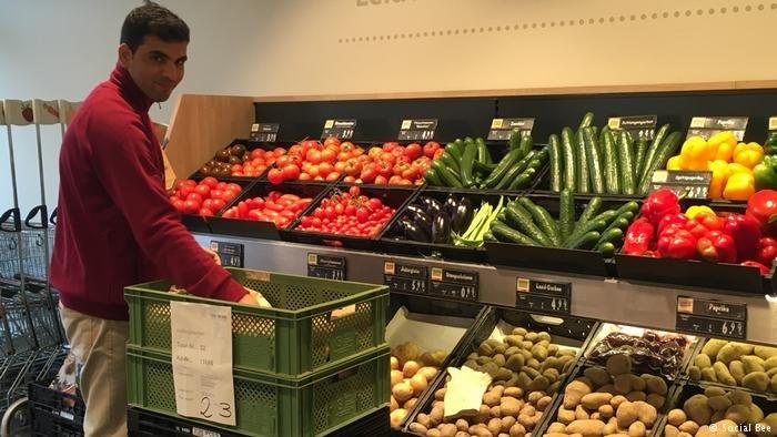 Masood Sutanzadeh stocks organic produce