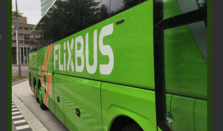 Crédit : capture d'écran du compte twitter de Flixbus