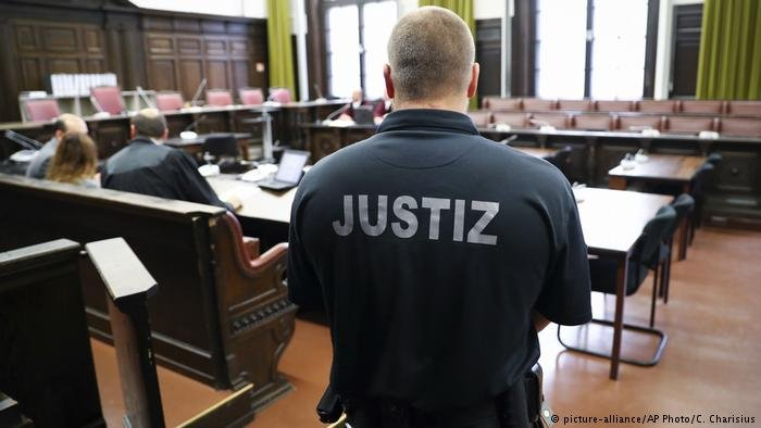 محاكمة في ألمانيا. صورة من الأرشيف
