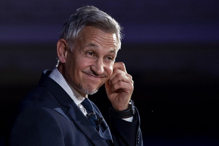 Television presenter and former footballer Gary Lineker attends a 'People's Vote' Rally in Central London, Britain | Photo: EPA/Will Oliver