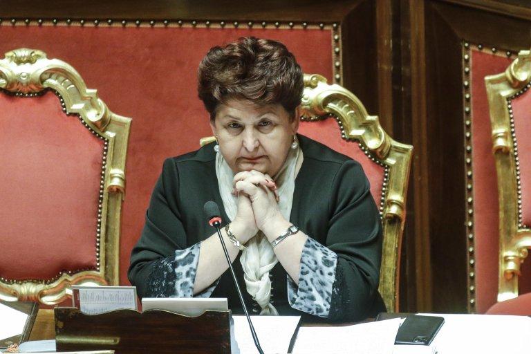 The Italian minister for agricultural policies and tourism, Teresa Bellanova   Photo: ANSA/GIUSEPPE LAMI