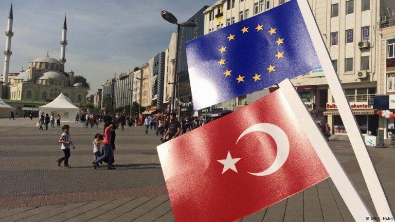 نمایی از شهر استانبول در ترکیه