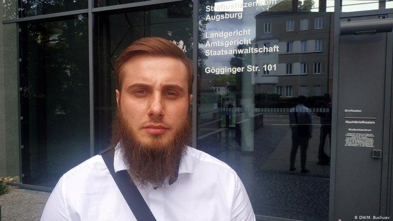 Mokhmad Abdurakhmanov is attempting to obtain asylum in Germany | Photo: DW/M.Bushuev