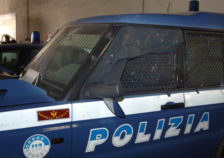 An Italian state police patrol vehicle | Photo: ARCHIVIO ANSA/ORIETTA SCARDINO/CD