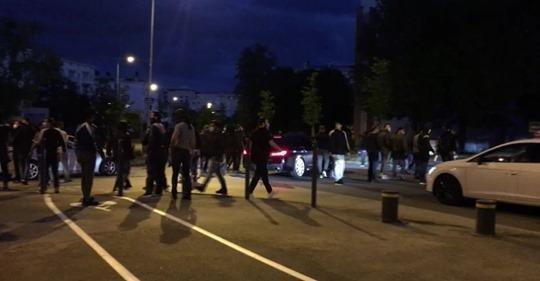 © (الصورة من فيسبوك) |صدامات بين رجال الشرطة وشبان في مدينة ديجون الفرنسية