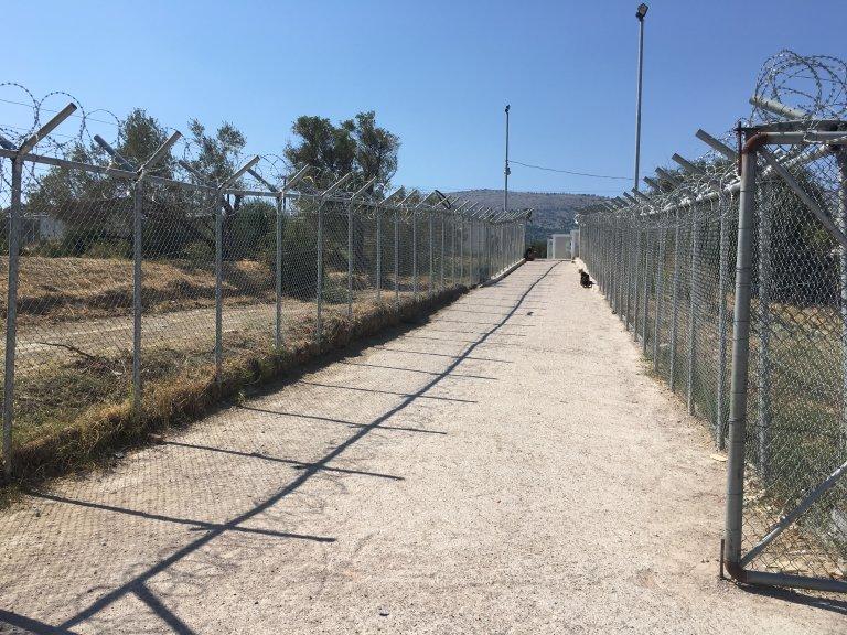 صورة من داخل مخيم فيال. مهاجر نيوز/أرشيف