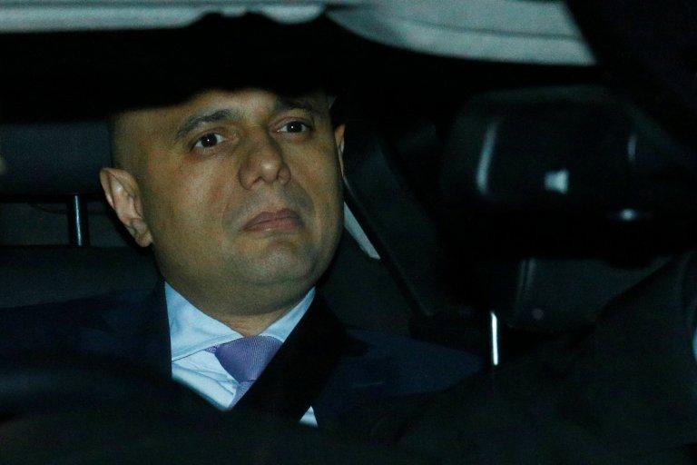 وزير الداخلية البريطاني، ساجد جاويد | مصدر وكالة رويترز