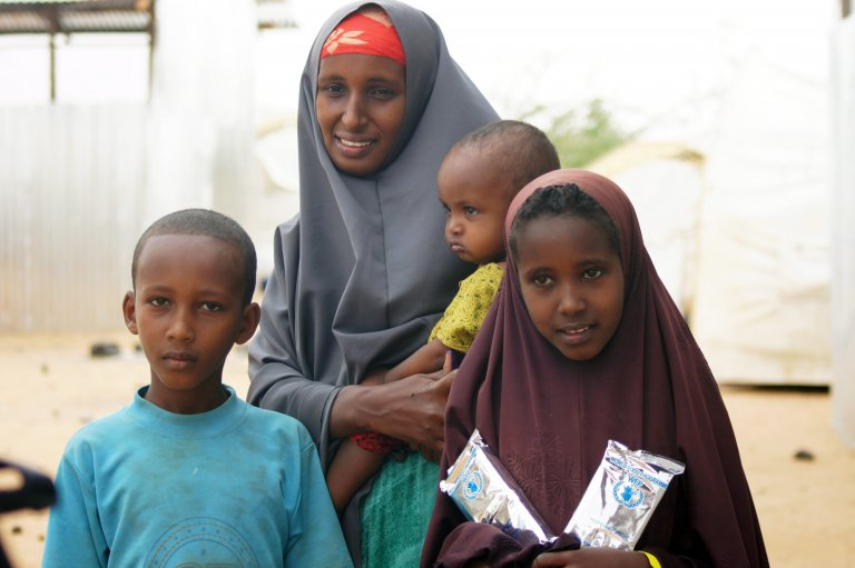 ANSA / لاجئون صوماليون في مخيم دولو أدو الأثيوبي. المصدر: إي بي إيه / كارولا فرينتيزين.