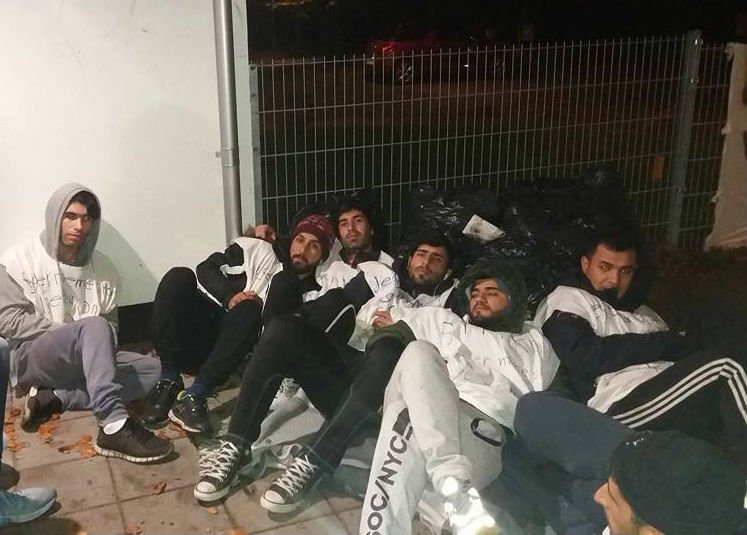 A group of 28 Kurdish and Iranian asylum seekers who are residents at a deportation centre in Denmark have been on hunger strike since mid-October. Credit: Facebook