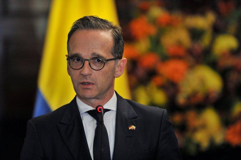 د آلمان د بهرنيو چارو وزير، هايکو ماس REUTERS/Carlos Julio Martinez |.