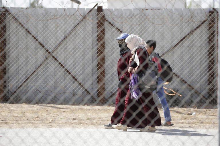 ANSA / لاجئون سوريون في مخيم الزعتري، على بعد 100 كيلو متر شمال غرب العاصمة الأردنية عمان. المصدر: إي بي إيه / أندريه بين.
