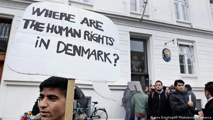 Jens Dresling/AP Photo/picture alliance  الدنمارك تنتهج منذ سنوات سياسة مقيّدة للهجرة
