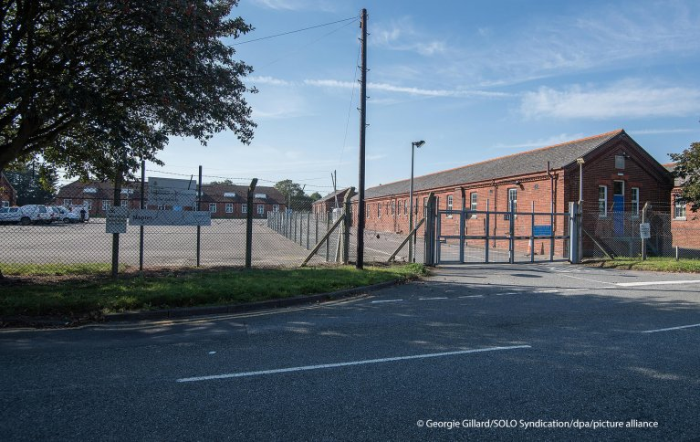 ثكنات عسكرية سابقة في كينت جنوب المملكة المتحدة  Photo: picture-alliance