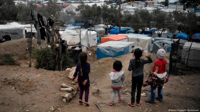 Children at Moria refugee camp | Photo: Getty Images/L. Gouliamaki