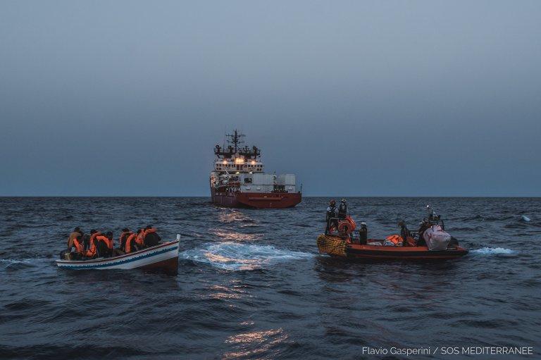 The Ocean Viking has rescued 30,000 people in the past five years | Photo: SOS Méditerranée / Flavio Gasperini
