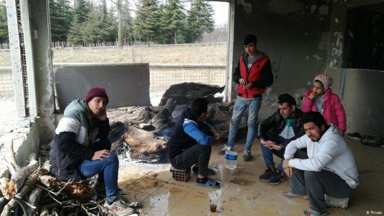 مهاجران افغان در شهر ادرنه ترکیه. عکس DR