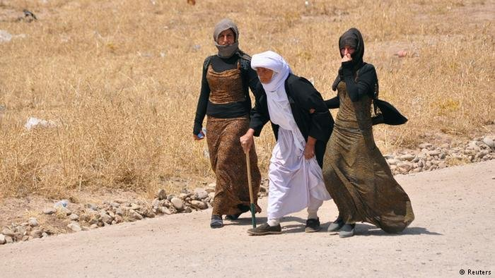 """تعرضت النساء الإيزيديات في شمال العراق للاضطهاد على أيدي تنظيم """"داعش"""""""