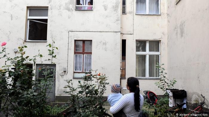 in Berlin, prices for rent are rising fast and social housing is severely lacking