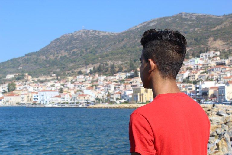 A student of the school Mazi of Still I Rise a Samos, Greece | Photo: STILL I RISE