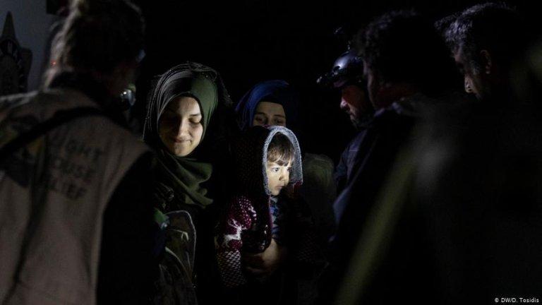 عکس از آرشیف/ وضعیت پناهجویان در جزایر یونان به ویژه اردوگاه موریا، در جزیره لیسبوس به وخامت گراییده است.