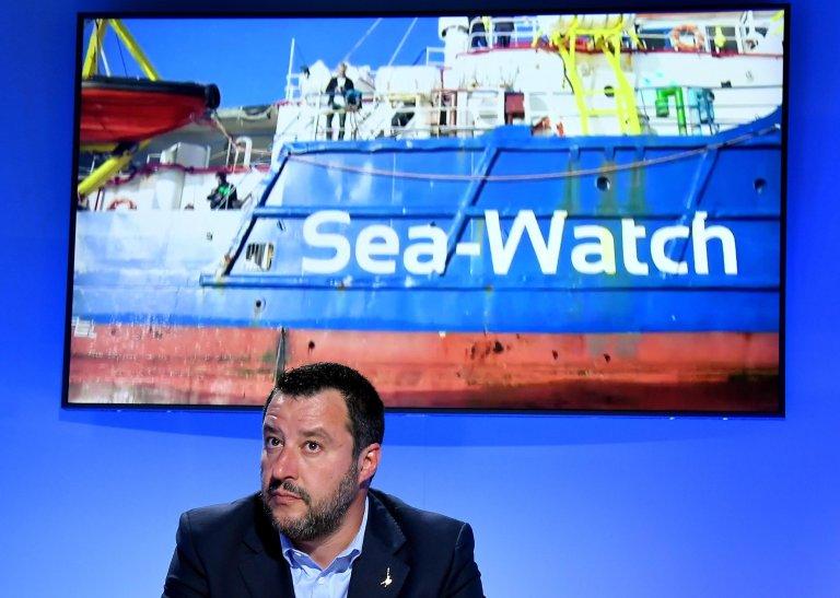Interior Minister Matteo Salvini during an ANSA forum | Photo: ANSA/ETTORE FERRARI