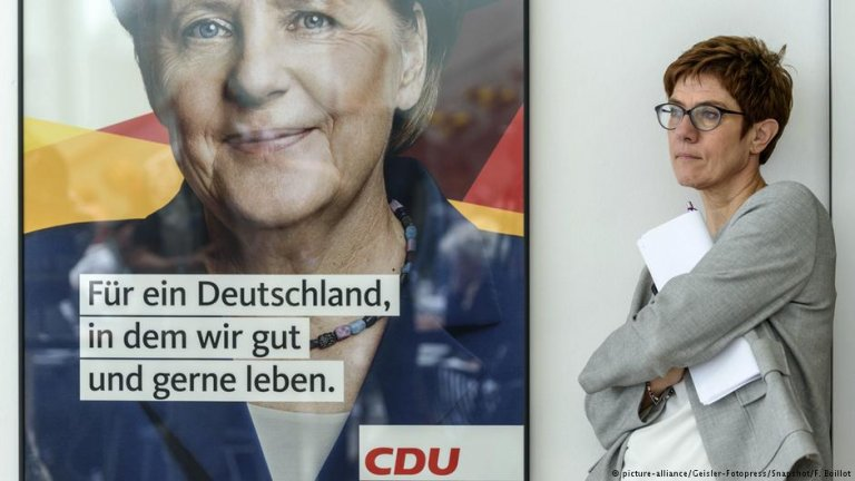 انه گریت کرامپ کارنباور رئیس جدید حزب دموکرات مسیحی آلمان