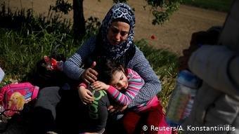 مهاجرین در مرز ترکیه- یونان