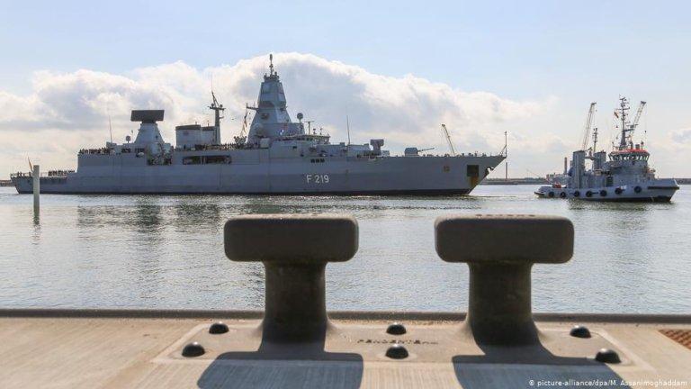 Operation Sophia's German frigate 'Sachsen' | Photo: Picture.alliance/dpa/M.Assanimoghaddam