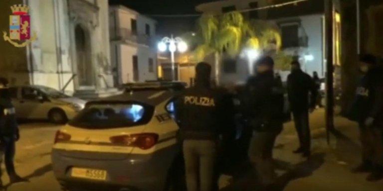 Police operation against the exploitation of migrants in the plane of Gioia Tauro on March 4, 2021   Photo: ANSA/Ufficio Stampa Polizia di Stato